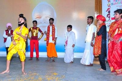 Drama by participants of Summer Camp at Brahma Kumaris Sukh Shanti Bhawan Phase 7 Mohali